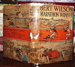 BERT WILSON MARATHON WINNER: Duffield, J. W.