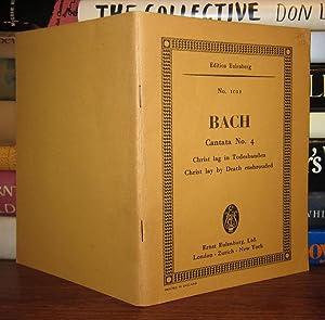 Bach - Cantana No. 4, Christ lay by death enshrouded: Bach, J. S. (Johann Sebastian)