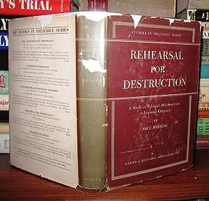 REHEARSAL FOR DESTRUCTION: Massing, Paul