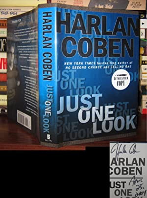 JUST ONE LOOK Signed 1st: Coben, Harlan