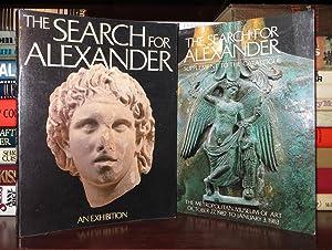 THE SEARCH FOR ALEXANDER An Exhibition: Yalouris, Nicholas & Manolis Andronikos & Katerina ...