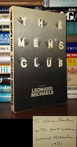 THE MEN'S CLUB Signed 1st: Michaels, Leonard