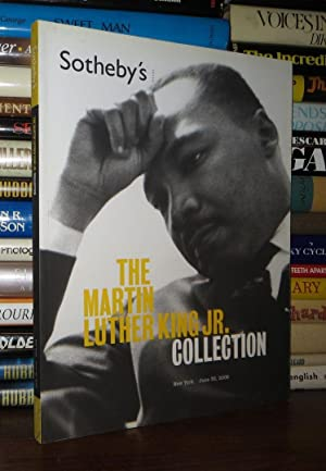THE MARTIN LUTHER KING JR COLLECTION June 30, 2006: Martin Luther King Jr. - Sotheby's