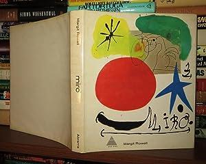 MIRÓ Joan Miro: Miro, Joan - Rowell, Margit