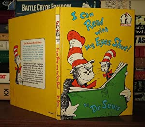 I CAN READ WITH MY EYES SHUT!: Seuss, Dr. -