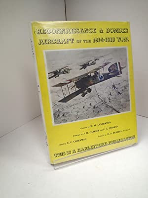Reconnaissance & Bomber Aircraft Of The 1914-1918: LAMBERTON, W M