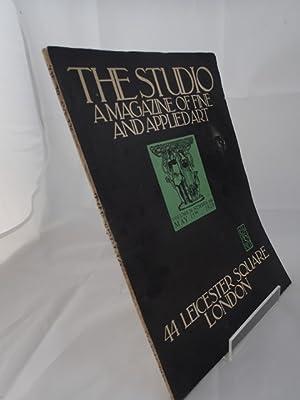The Studio; A Magazine of Fine & Applied Art; May 15, 1920; Vol 79 No 326: Geoffrey Holme (ed)