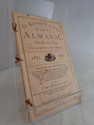 D Ransom & Co's Family Almanac and: RANSOM, D