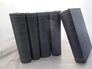 Grove's Dictionary Of Music And Musicians (5 Volumes)