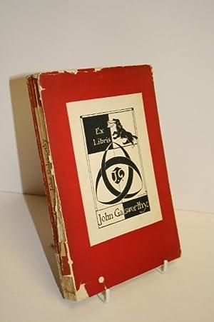 Ex Libris John Galsworthy: GALSWORTHY, John &
