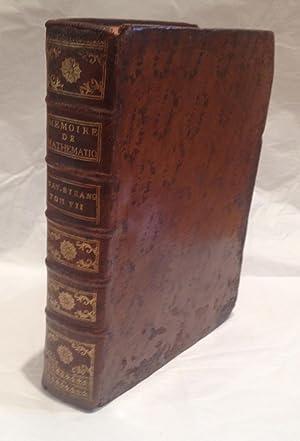 Essai sur une application des regles de: COULOMB, Charles-Augustin de.
