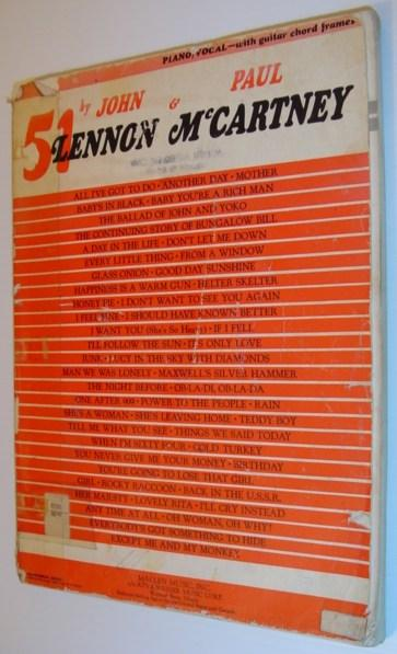51 By John Lennon and Paul McCartney: Lennon, John; McCartney,
