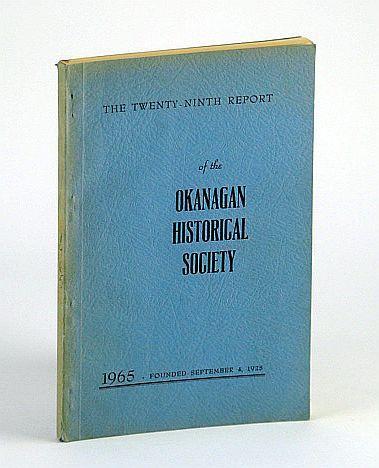 The Twenty Ninth 29th Report Of Okanagan Seymour Kate