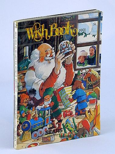 Sears Christmas Wish Book.Sears Canada 1991 Christmas Wish Book