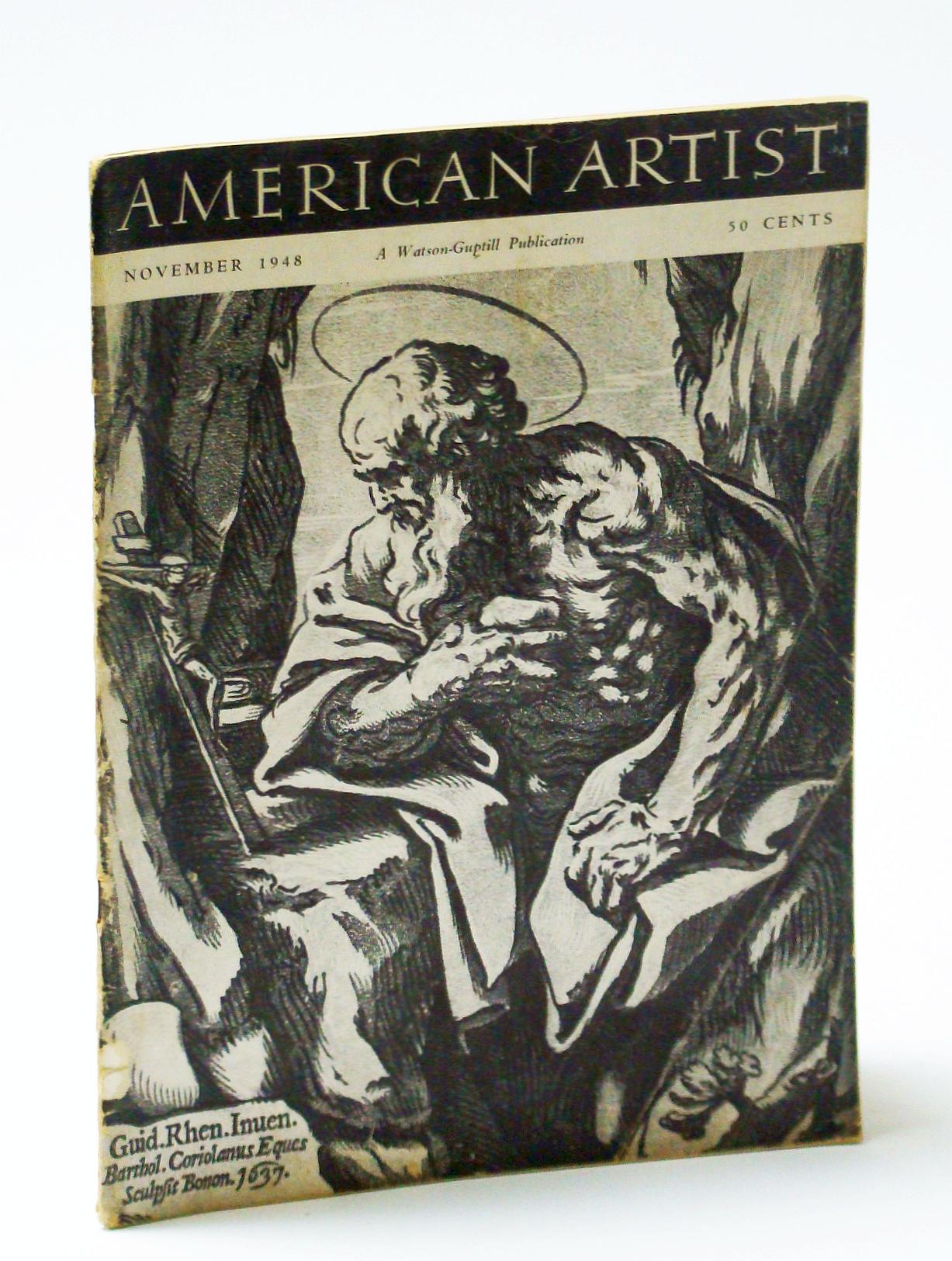 American Artist Magazine, November (Nov.) 48 -: Verk, Stefen; Pousette-Dart,