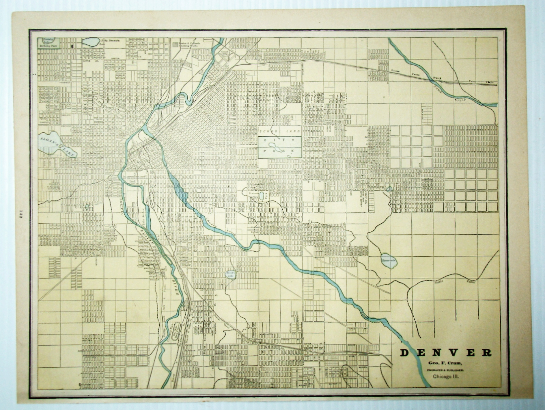1889 Color Map of the City of Denver, ... on san diego, boulder colorado map, centennial colorado map, missoula montana map, rocky mountains, evans colorado map, salt lake city, las vegas map, lakewood colorado map, colorado state map, casper wyoming map, elizabeth colorado map, colorado springs, estes park colorado map, denver tech center, colorado rockies map, new orleans, castle rock co map, federal heights colorado map, colorado us map, loveland colorado map, sterling colorado map, san antonio, usa map, united states map, kansas city,