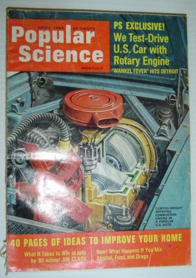 Popular Science Magazine, April (Apr.) 1966 Contributors, Multiple Fair Softcover