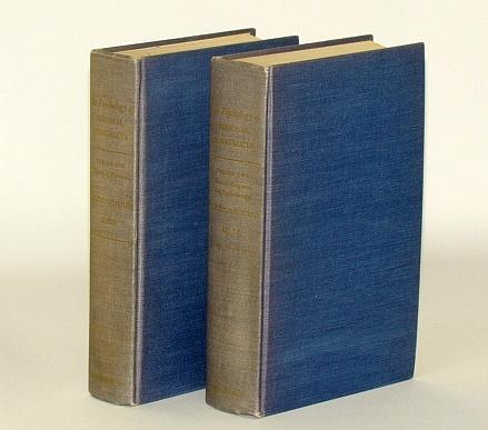 The Psychology of Personal Constructs - Complete Two (2) Volume Set Kelly, George A. Good Hardcover