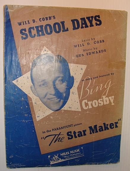 School Days (When We Were A Couple of Kids): Sheet Music for Voice, Ukulele and Piano Edwards, Gus; Cobb, Will D. Fair Softcover