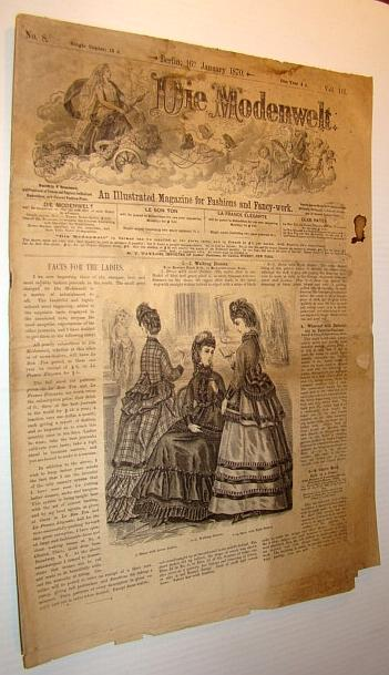 Die Modenwelt, January 16th, 1870 - An: Contributors, Multiple