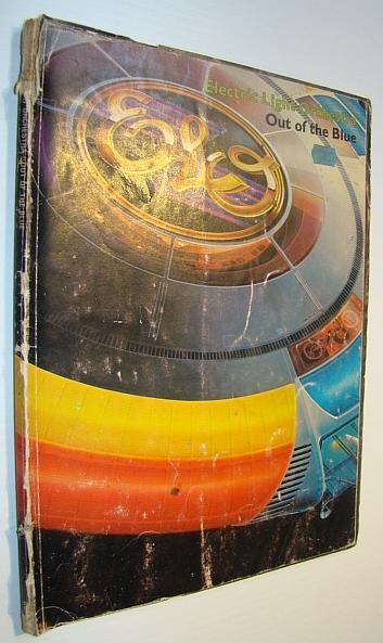 out of the blue elo electric light orchestra songbook sheet music for piano and voice with. Black Bedroom Furniture Sets. Home Design Ideas
