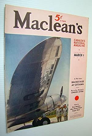 Maclean's - Canada's National Magazine, 1 March, 1940 - The World's Biggest Asbestos...