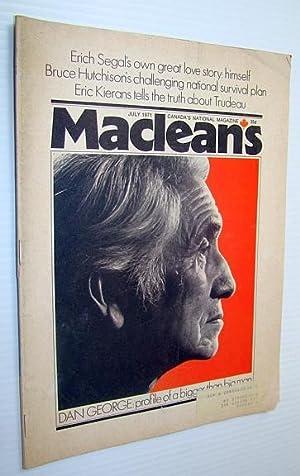 Maclean's - Canada's National Magazine, July 1971: Langdon, Steven; Bulson,
