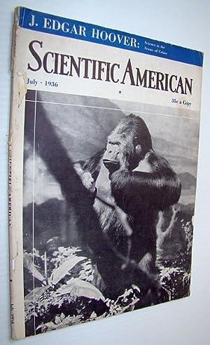 Scientific American Magazine, Volume 155, Number 1,: Smith, Philip; Johnson,