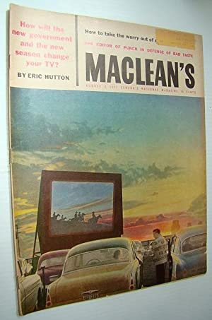 Maclean's - Canada's National Magazine, August 3, 1957 - Montreal Artist Jean-Paul ...