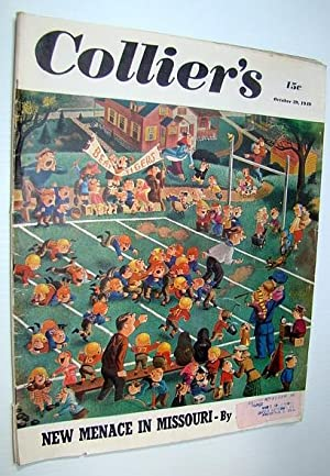 Collier's, The National Weekly Magazine, October 29,: Velie, Lester; Stavisky,
