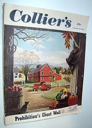 Collier's - The National Weekly Magazine, November: Dabney, Birginius; Yahraes,