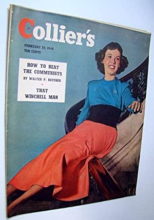 Collier's Magazine, February 28 1948 - Walter Winchell / Communists in the UAW: Havighurst, ...