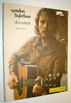 Gordon Lightfoot - Don Quixote Songbook (Song Book) - Sheet Music for Piano and Voice with Guitar ...