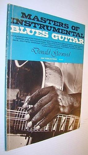 Masters of Instrumental Blues Guitar: Garwood, Donald