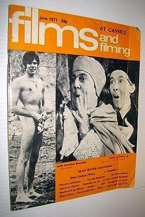 Films and Filming Magazine, June 1971 -: Bates, Alan; Lane,
