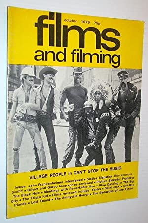 Films and Filming Magazine, October 1979 - Cover Photo of The Village People: Frankenheimer, John; ...