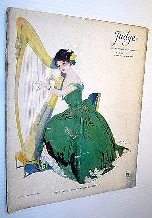 Judge Magazine, March 13, 1915 - St.: Wilson, J. Clyde;