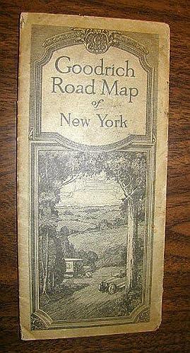 1920) Goodrich Road Map of New York  Beck 9401bcbe5