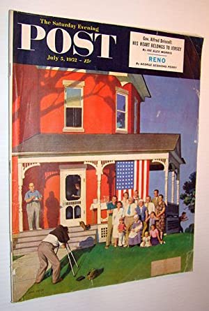 The Saturday Evening Post, July 5, 1952: Stern, Richard; Klingsberg,