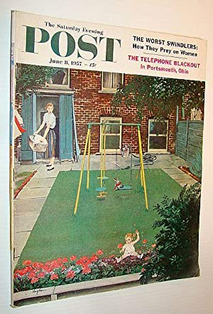 The Saturday Evening Post, June 8 1957: Murphy, Robert; Marmur,