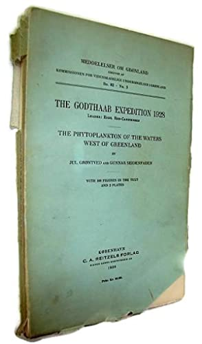 The Godthaab Expedition 1928 - The Phytoplankton of the Waters West of Greenland