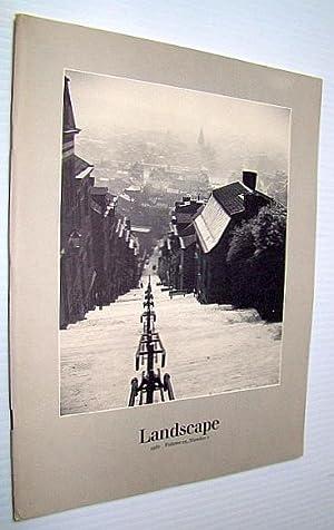 Landscape, Volume 25, Number 1, 1981: Engel, J. Ronald; Noble, Allen G.; Jackson, Ian; Fleming, ...