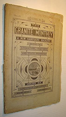 The Granite Monthly - A New Hampshire: Parmelee, Joseph; Griffith,