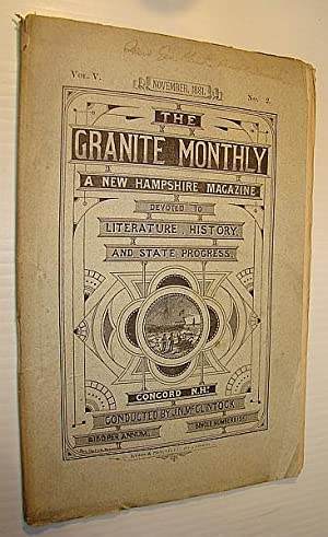 The Granite Monthly - A New Hampshire: McClintock, J.N.; Stacy,