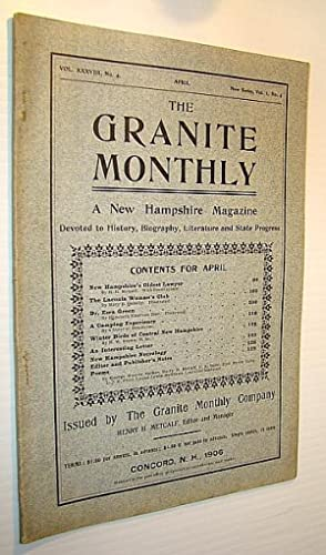 The Granite Monthly - A New Hampshire: Metcalf, H.H.; Quimby,