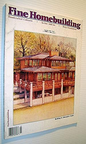 Fine Homebuilding Magazine, September 1991 - No.: Clark, Timothy; Haun,