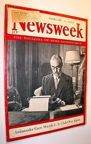 Newsweek - The Magazine of News Significance,: Pratt, Admiral William
