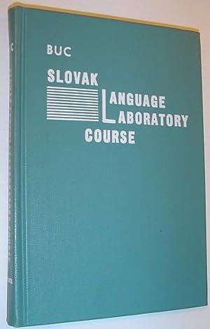 Slovak Language Laboratory Course: Buc, Rev. Bonaventure S.