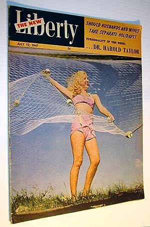The New Liberty Magazine, July 12, 1947: Bbarker, Steve; Barker,