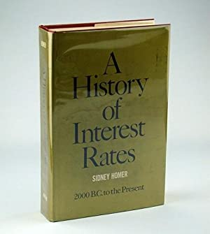 A History of Interest Rates: Homer, Sidney